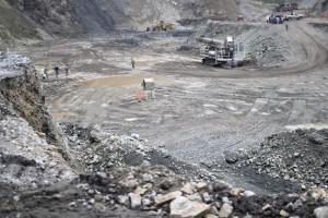 La mina de Ternium en San Miguel de Aquila. Foto: Cuartoscuro