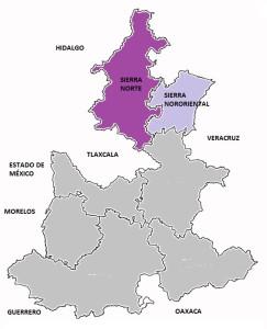 mapa de puebla HIDRO