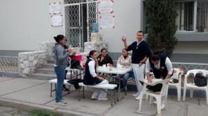 Enfermeros del Hospital General de Gómez Palacio mantienen casas de campaña y pancartas de inconformidad en la institución. (El Siglo de Durango)